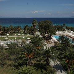 Kassandra Palace Hotel пляж