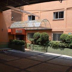 Отель : Kali Ciudadela Mexico City Мехико парковка