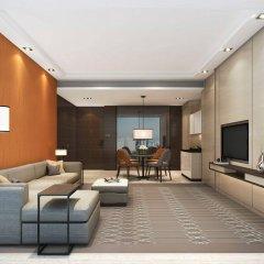 Отель Hyatt Place Shanghai Hongqiao CBD Китай, Шанхай - отзывы, цены и фото номеров - забронировать отель Hyatt Place Shanghai Hongqiao CBD онлайн комната для гостей фото 5