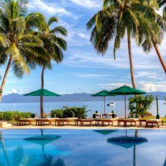 Отель Jean-Michel Cousteau Resort Fiji бассейн