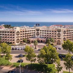 Отель Vila Gale Cerro Alagoa Hotel Португалия, Албуфейра - отзывы, цены и фото номеров - забронировать отель Vila Gale Cerro Alagoa Hotel онлайн пляж фото 2