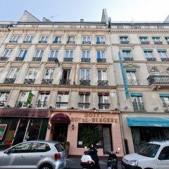 Отель Royal Bergere Франция, Париж - 13 отзывов об отеле, цены и фото номеров - забронировать отель Royal Bergere онлайн вид на фасад фото 2