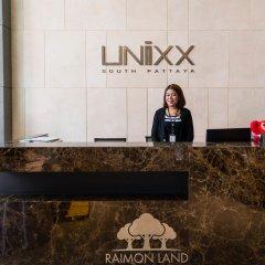 Отель Unixx South Pattaya By Grandisvillas Паттайя интерьер отеля