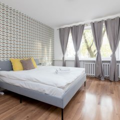 Апартаменты Metro Wilanowska 3-Bedroom Apartment Варшава комната для гостей фото 3