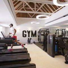 Отель LUX* Grand Gaube фитнесс-зал