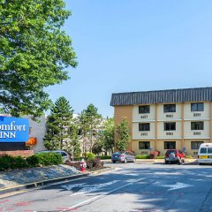 Отель Comfort Inn Washington Dulles International парковка