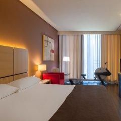 Hotel Silken Puerta de Valencia комната для гостей