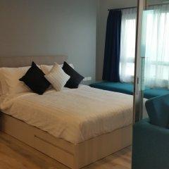 Отель Centric Sea Condo Pattaya Стандартный номер с разными типами кроватей