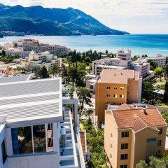 Отель Lusso Mare Черногория, Будва - отзывы, цены и фото номеров - забронировать отель Lusso Mare онлайн пляж фото 2