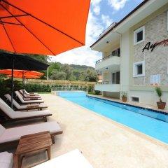 Ay Hotel Gocek Турция, Мугла - отзывы, цены и фото номеров - забронировать отель Ay Hotel Gocek онлайн бассейн