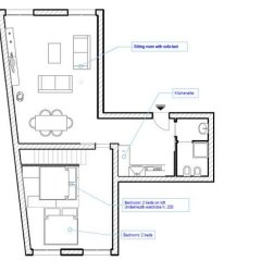 Апартаменты Apartment - The Modern Flat городской автобус