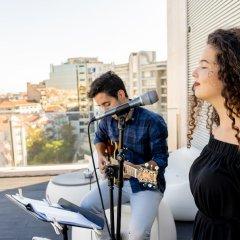 Отель Hf Fenix Music Лиссабон фитнесс-зал