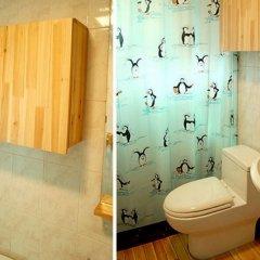 Отель C.U. BNB Guest House Южная Корея, Сеул - отзывы, цены и фото номеров - забронировать отель C.U. BNB Guest House онлайн ванная