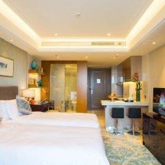 Отель Golden Tulip Suzhou Residence комната для гостей фото 2