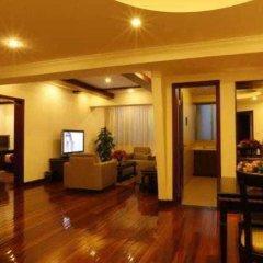Отель Rayfont Hongqiao Hotel & Apartment Shanghai Китай, Шанхай - 1 отзыв об отеле, цены и фото номеров - забронировать отель Rayfont Hongqiao Hotel & Apartment Shanghai онлайн интерьер отеля фото 3