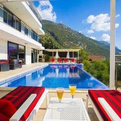 Villa Merak Турция, Калкан - отзывы, цены и фото номеров - забронировать отель Villa Merak онлайн бассейн фото 2