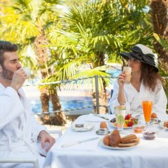 Отель Grand Hotel Terme Италия, Монтегротто-Терме - отзывы, цены и фото номеров - забронировать отель Grand Hotel Terme онлайн питание фото 2