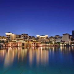 Отель The Palace Downtown Дубай приотельная территория