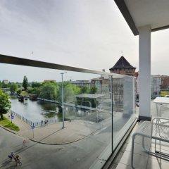 Апартаменты Dom & House - Apartments Waterlane балкон