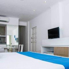 Отель BSEA Cancun Plaza Hotel Мексика, Канкун - отзывы, цены и фото номеров - забронировать отель BSEA Cancun Plaza Hotel онлайн комната для гостей фото 7