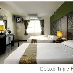 Отель Rambuttri Village Inn & Plaza 3* Номер категории Премиум с различными типами кроватей фото 9