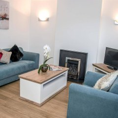 Отель Base Serviced Apartments - The Docks Великобритания, Ливерпуль - отзывы, цены и фото номеров - забронировать отель Base Serviced Apartments - The Docks онлайн комната для гостей фото 4