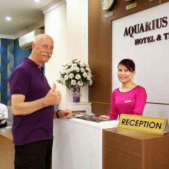 Отель Aquarius Grand Hotel Вьетнам, Ханой - отзывы, цены и фото номеров - забронировать отель Aquarius Grand Hotel онлайн интерьер отеля фото 3