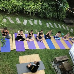 The Yard Hostel фитнесс-зал