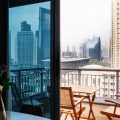 Отель Fantastay - Portokal Downtown Dubai балкон