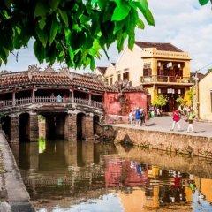 Отель Flamingo Villa Hoi An Вьетнам, Хойан - отзывы, цены и фото номеров - забронировать отель Flamingo Villa Hoi An онлайн приотельная территория