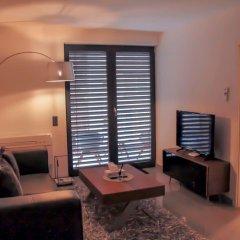 Отель BlueStone Boarding Apartments Германия, Дюссельдорф - отзывы, цены и фото номеров - забронировать отель BlueStone Boarding Apartments онлайн комната для гостей фото 3