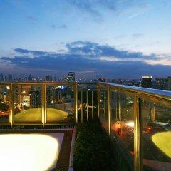 Отель Grand Diamond Suites Hotel Таиланд, Бангкок - отзывы, цены и фото номеров - забронировать отель Grand Diamond Suites Hotel онлайн балкон