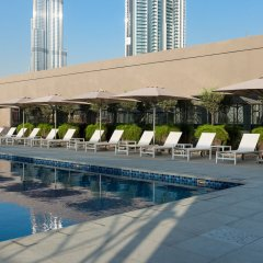 Отель Rove Downtown Dubai бассейн фото 2