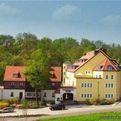 Hotel Villa Weltemühle Dresden парковка
