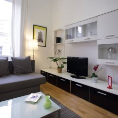 Апартаменты Brussels City Center Apartments Брюссель комната для гостей