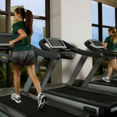 Отель InterContinental Miami фитнесс-зал фото 2