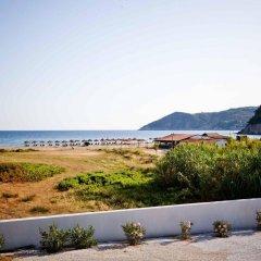 Отель Aselinos Suites пляж фото 2