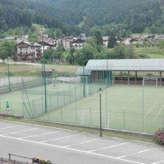 Hotel Davost Форни-ди-Сопра спортивное сооружение