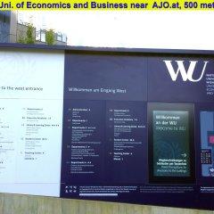 Отель AJO Apartments Messe Австрия, Вена - отзывы, цены и фото номеров - забронировать отель AJO Apartments Messe онлайн спортивное сооружение