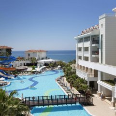 Alba Queen Hotel - All Inclusive Сиде бассейн фото 3