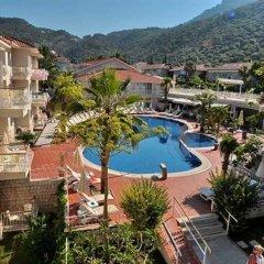 The Blue Lagoon Deluxe Hotel Турция, Олюдениз - 3 отзыва об отеле, цены и фото номеров - забронировать отель The Blue Lagoon Deluxe Hotel онлайн балкон