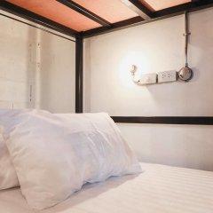 Nivas Siam Hostel Бангкок сейф в номере