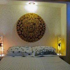 Отель Villas Las Azucenas Мексика, Сиуатанехо - отзывы, цены и фото номеров - забронировать отель Villas Las Azucenas онлайн комната для гостей фото 3
