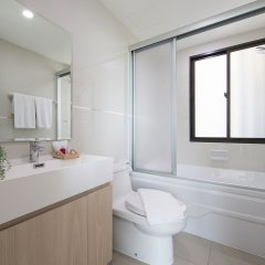 Отель Like Sukhumvit 22 Таиланд, Бангкок - отзывы, цены и фото номеров - забронировать отель Like Sukhumvit 22 онлайн ванная