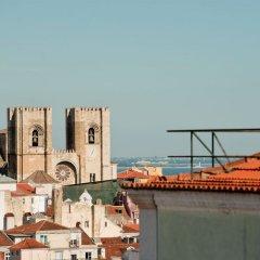 Апартаменты Chiado Apartments Лиссабон приотельная территория фото 2