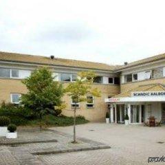 Отель Scandic Aalborg Øst вид на фасад фото 2
