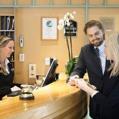 Отель BEST WESTERN Hotel Jagersro Швеция, Мальме - отзывы, цены и фото номеров - забронировать отель BEST WESTERN Hotel Jagersro онлайн интерьер отеля