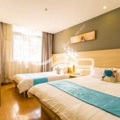 Отель Baolu Business Hotel (Shanghai Pudong Airport) Китай, Шанхай - отзывы, цены и фото номеров - забронировать отель Baolu Business Hotel (Shanghai Pudong Airport) онлайн комната для гостей фото 2