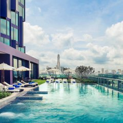 Отель Mercure Bangkok Makkasan бассейн фото 3