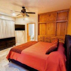 Отель Casa Cathleen Мексика, Педрегал - отзывы, цены и фото номеров - забронировать отель Casa Cathleen онлайн комната для гостей фото 3